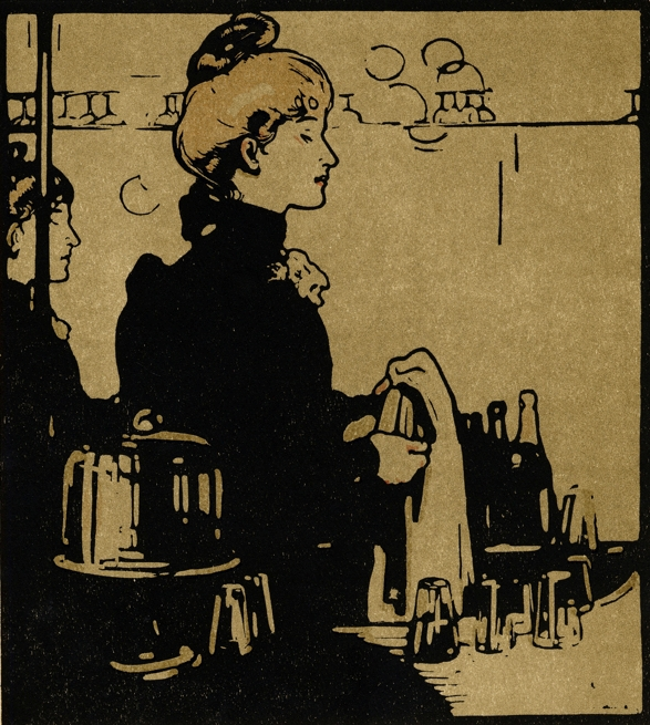 British barmaids in 1890s New York | Cocktail 101